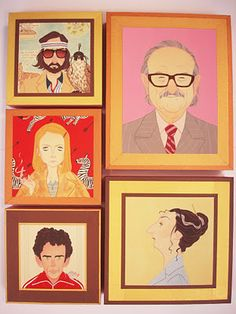 The Royal Tenenbaums by Julian Callos (leanne this makes me think of your engravings!)