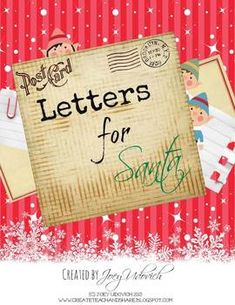 FREEBIE!  This is an adorable freebie for all of my fellow teachers that celebrate Christmas with their students! It's a unit focused on writing a friendly...only this time it's a letter for Santa!  It includes a holiday word list, a whimsical page of what a friendly letter should include, a letter template, and more! Please enjoy my gift to all of you... :)