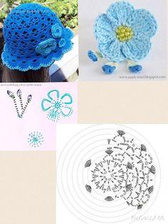 Crochet hats 519673244501231284 - DIY Crochet Pretty Panama Hat for Girls Source by Childrens Crochet Hats, Crochet Kids Hats, Crochet Girls, Crochet Baby Clothes, Knitted Hats, Bonnet Crochet, Crochet Beret, Crochet Cap, Crochet Diagram