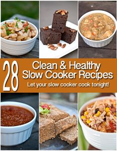 Slow cooker season is upon us. Even if it's still hot outside, nothing beats a healthy dinner that cooks itself! (Or even dessert for that matter!) Enjoy these recipes and more at www.TheGraciousPa...