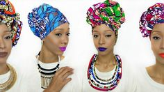 Head Wrap Tutorial | 5 Styles | Ankara Kouture