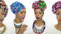 Head Wrap Tutorial | 5 Styles | Ankara Kouture
