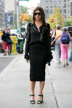 New York Fashion Week Spring 2014 Attendees Pictures - StyleBistro