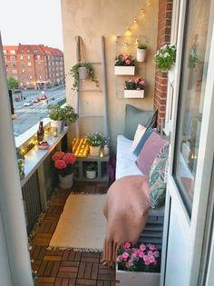 Small balcony ideas, balcony ideas apartment, cozy balcony design, outdoor balcony, balcony ideas on a budget Small Balcony Decor, Balcony Ideas, Balcony Decoration, Balcony Plants, Small Patio, Balcony Gardening, Decor For Small Spaces, Narrow Balcony, Small Balcony Design
