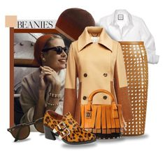 """""""Classic Beanies"""" by interesting-times ❤ liked on Polyvore featuring Vanity Fair, Burberry, Sara Battaglia, Ray-Ban, Jeffrey Campbell and beanies"""