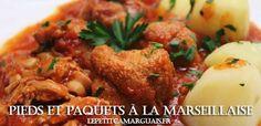 Pieds et Paquets à la Marseillaise la recette pieds et paquets à la Marseillaise font parties recettes les plus fabuleuses de Provence du Midi de la France