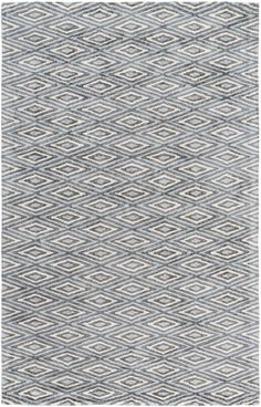 Surya Quartz QTZ-5015 Charcoal Rug | Contemporary Rugs - OUT of Stock