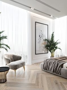 Mid-Century Bedroom Decor Tips & Tricks to Make This Bedroom Decor Last You Seasons and Seasons. Decorating a bedroom decor might be one of the biggest hardship Home Bedroom, Modern Bedroom, Bedroom Decor, Master Bedroom, Contemporary Bedroom, Bedroom Ideas, Bedroom Furniture, Bedroom Romantic, Dream Bedroom