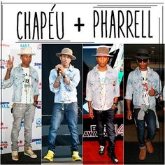 Chapéu + Pharrell
