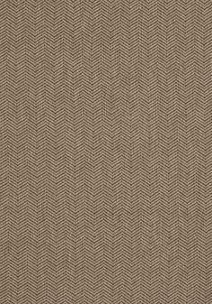 Hempstead Herringbone #fabric in #mushroom from the Woven Resource 5 collection. #Thibaut