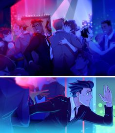 Club scene by PrinceCanary #Gentlemantown