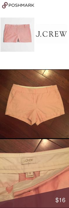 • { J. Crew } • oxford shorts. Size: 6. J crew oxford shorts. Size: 6. Color is ripe papaya. See closer pictures for more true representation of the color. In excellent, like new condition! J. Crew Shorts