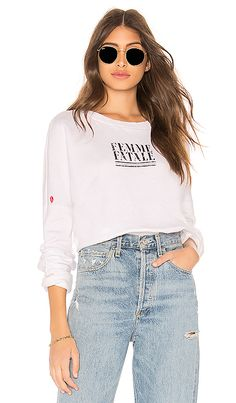 68425c8fc8 New LNA Femme Fatale Sweatshirt online. Find the great LPA womens-clothing  from top clothing store.