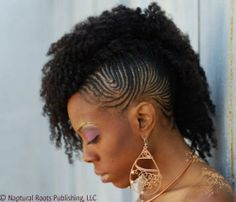 #mohawk cornrow #inhmd International #NaturalHair #Meetup Day is May 17, 2014 visit www.nnhmd.com