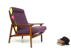 Mid Century 1960's Armchair by Guy Rogers. Vintage Retro Design.. £895.00, via Etsy.