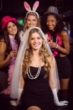 Friends celebrating bachelorette party. Download it at freepik.com! #Freepik #photo #party #restaurant #woman #celebration