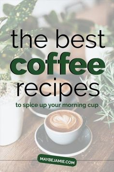 Coffee Recipes Inspirational Blogs, Spice Things Up, Tea Time, Coffee Recipes, Brewing, Money Tips, Frugal Meals, Treats, Drinks