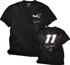 Denny Hamlin #11 Fan T-Shirt by Checkered Flag. $23.99. Proudly show off your appreciation for the sport of racing and your favorite driver with this Denny Hamlin #11 Fan T-Shirt. This NASCAR t-shirt features 100% cotton construction and screen print graphics.