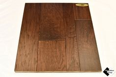"3/8"" Multi-Width Engineered Distressed Hickory Suede Hardwood Flooring"