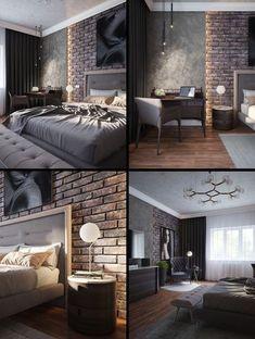 Bedroom interior design ideas Source by Home Decor Bedroom, Modern Bedroom, Bedroom Ideas, Luxury Home Decor, Luxury Homes, Loft Design, Suites, Luxurious Bedrooms, Home Interior Design