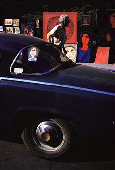 Ernst Haas. Greenwich Village, New York, 1950s