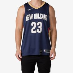 80c57e5b0 Anthony Davis  23 New Orleans Pelicans Nike Icon Edition Swingman Jers – Culture  Kings Culture