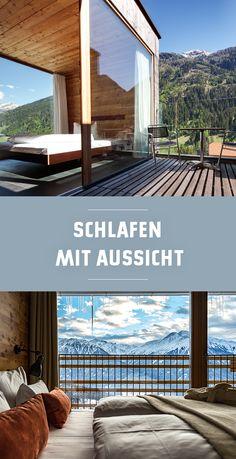 hotel photoshoot Designunterknfte mit Ausblick in die Berge Tirol Design Hotel, Architectural Design House Plans, Architecture Design, Hotel Berg, Hotel In Den Bergen, Travel Around The World, Around The Worlds, Places To Travel, Places To Go