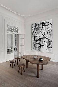 Minimalism Modern Minimalism Meets Classic Design: Brussels Home By Olivier  Dwek Oliver Dwek Inspiration 3