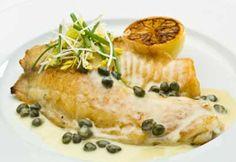 Filets de poisson poêlés, sauce tartare:(www.facebook.com/GRAINE.DE.MARIN)