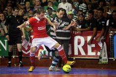 Futsal: Sporting mais perto do título