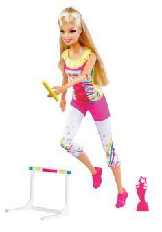 Barbie - W3768 - Poupée - Championne d'athlétisme: Amazon.fr: Jeux et Jouets