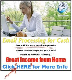 Email Processors Needed - Get Paid Daily