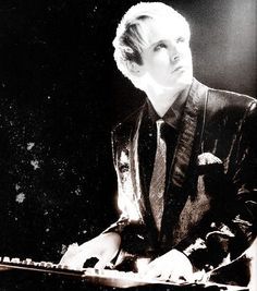 Nick Rhodes, the Synth god!