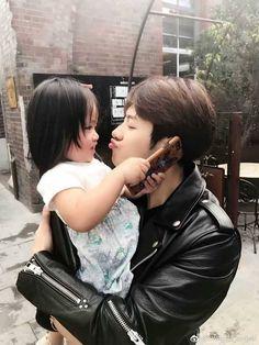 Jackson and his niece