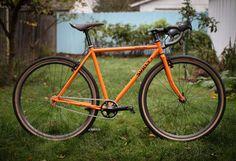 Surly Cross Check ~Dream Tangerine ~ | Flickr - Photo Sharing!