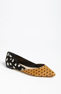 Two Patterned Flats. OBSESSED!