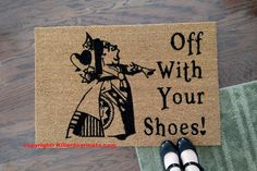 Hey, I found this really awesome Etsy listing at https://www.etsy.com/uk/listing/268635773/off-with-your-shoes-queen-of-hearts