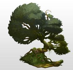 concept art trees - Google Search
