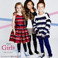 Discover must-have fashion for your toddler girls at Matalan  Stripe Belted Dress, Loopy Knit, Jumper, Jacket, 2pk Tops, Shorts & Tights Set: age 3-13yrs  www.matalan-me.com  #Matalanme #MatalanAW15 #Trend #GoodQuality #GreatPrice #MakesFashionSense #uae #jordan #oman #bahrain #qatar #dress #jumper #jacket #top #shorts #tights #kids #fashion