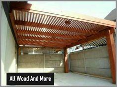 Pergola To House Attachment Product Pergola Carport, Metal Pergola, Deck With Pergola, Covered Pergola, Pergola Shade, Patio Roof, Pergola Patio, Backyard, Metal Roof