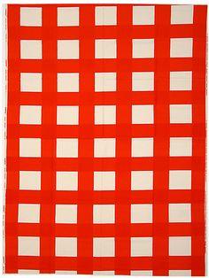 primary-yellow:SÄÄNTO (textile sample) — VUOKKO ESKOLIN-NURMESNIEMI, 1973Source: MET MUSEUM — THE COLLECTION ONLINE Color Pop, Colour, Marimekko, Textile Design, Company Logo, Textiles, Graphics, Interiors, Patterns