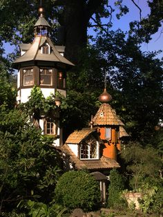 Joachim Tantau - Castle - A kids' playground full of secret rooms and fancy gadgets. Secret Rooms, Cabinet Makers, Playground, Gazebo, Architecture Design, Gadgets, Castle, Outdoor Structures, Fancy