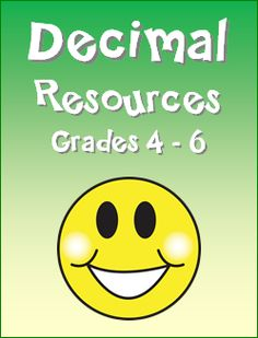 Decimal Teaching Resources in Laura Candler's File Cabinet