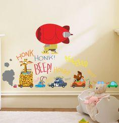 Sensible Cute Cartoon Tree Forest Animal Kids Room Decor Diy Monkey Decals Bedroom Baby Home Wall Sticker Fragrant Flavor In