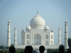Taj Mahal. Yep, this picture was really taken by me.