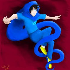 Old picture of John that I did! I was happy practicing poses. Homestuck, I Am Happy, Old Pictures, Donald Duck, Smurfs, Disney Characters, Fictional Characters, My Arts, Poses