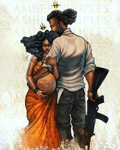 33 ideas for black art couples relationships posts Art Black Love, Black Couple Art, Art Couple, Black Girl Art, Black Couples, Art Girl, Black Girls, Black Men, Black Art Painting