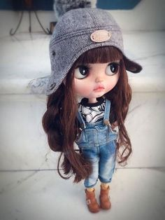 Cutie of the Day by qdsy Check all Blythe Doll Customizers at www.dollycustom.com