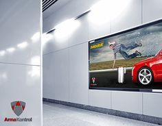 "Check out new work on my @Behance portfolio: ""Arma Kontrol Billboard Çalışması"" http://on.be.net/1An6A9o"
