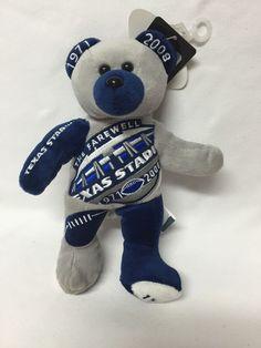 Farewell Texas Stadium Dallas Cowboys 1971-2008 NFL Collectible Bear 150 of 3000 #DallasCowboys